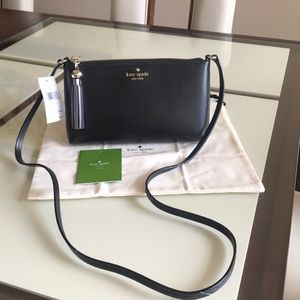 Kate space Ivy street Leather Crossbody Bag